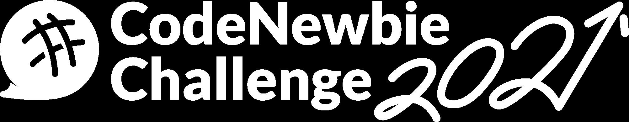CodeNewbie Challenge 2021 Logo